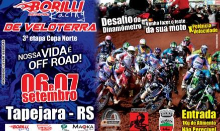 Circuito Borilli de Veloterra Chega à casa do patrocinador