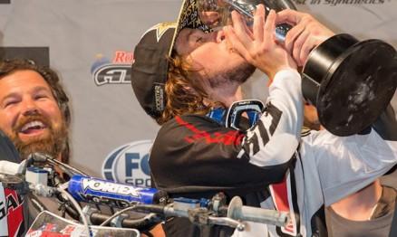 Kyle Regal conquista seu primeiro título do AMSOIL Arenacross