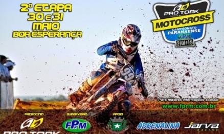 Boa Esperança recebe a 2ª Etapa do Campeonato Paranaense de Motocross