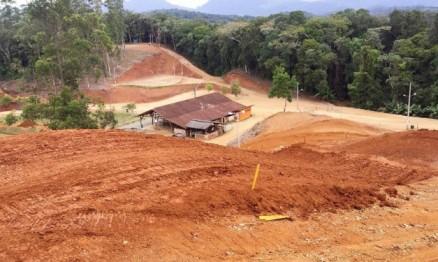 A pista foi toda reformada para esta etapa do estadual.