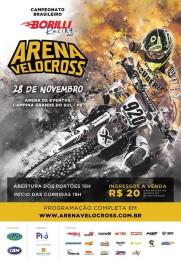 Brasileiro de Arena Velocross acontece neste sábado no PR