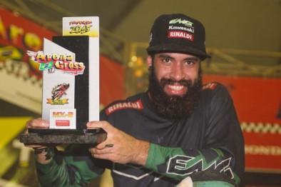 Dudu Lima conquista vice-campeonato da MX2 no Arena Cross