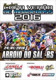 Domingo abre a Copa Verão de Motocross em Arroio do sal