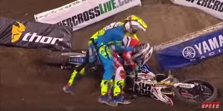 Weston Peick protagoniza cena de violência e é suspenso de etapa do AMA Supercross 2016