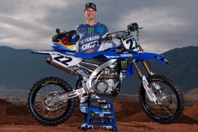 Reed e equipe oficial da Yamaha de volta para 2016