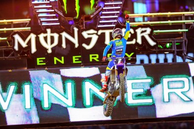 Resultados da 7a etapa do AMA Supercross 2016 em Arlington
