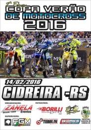 Domingo tem Copa Verão de Motocross em Cidreira