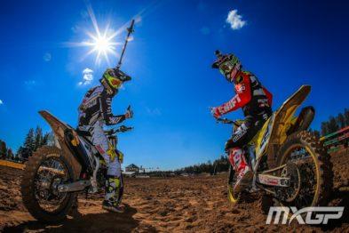 De carona com Kevin Strijbos e Max Anstie na 6a etapa do Mundial de Motocross 2016