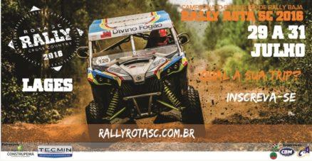 Rally Rota SC faz parte do Festival de Inverno da Serra Catarina