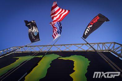 De carona com Mitchell Oldenburg na 18a etapa do Mundial de Motocross