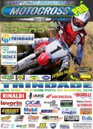 Trindade (GO) recebe prova do Brasileiro de Motocross PRÓ neste fim de semana