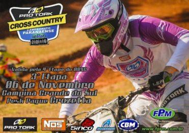 Paraná recebe 4ª etapa do Campeonato Brasileiro de Cross Country