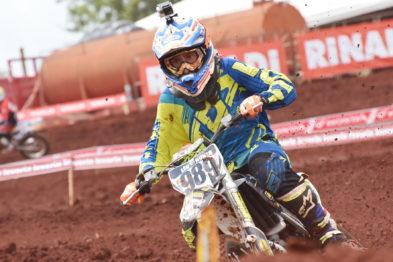 Léo Nunes tira 14 pontos e se consagra Campeão Brasileiro de Motocross MXJR