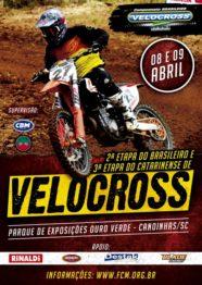 Inscrições abertas para a 2ª Etapa do Brasileiro de Velocross