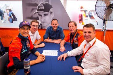 Marvin Musquin renova com a KTM para mais duas temporadas