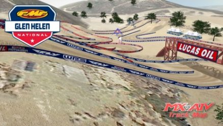 Volta virtual AMA Motocross 2017 em Glen Helen