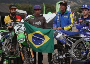 Team Brasil inscrito no Motocross das Nações