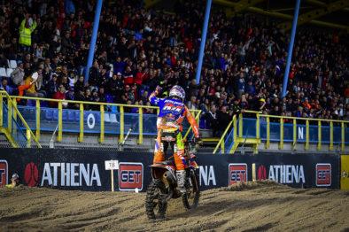 Resultados das classificatórias da 18a etapa do Mundial de Motocross 2017