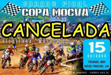 Grande final da Copa MOCVA é cancelada