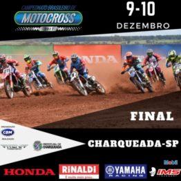 Charqueada (SP) recebe a final do Brasileiro de Motocross