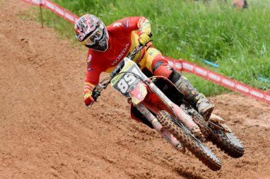 Gustavo Pessoa vence e garante o título da MX2 no BR de Motocross