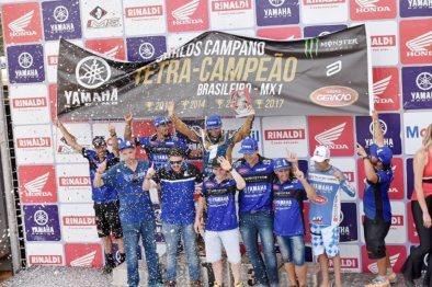 Espanhol conquista o quarto título no Brasileiro de Motocross