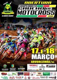 Abertura do Gaúcho de Motocross acontece em Arvorezinha neste final de semana