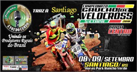 Santiago sedia a 5ª etapa do Gaúcho de Velocross no final de semana