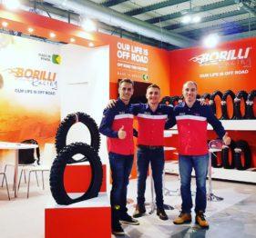 Pneus Borilli participa de feira internacional na Itália
