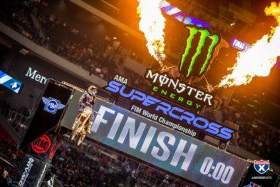 Resultados da 9a etapa do AMA Supercross 2019 em Atlanta