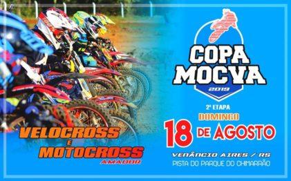 Domingo tem 2ª etapa da Copa Mocva em Venâncio Aires