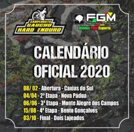 Hard Enduro tem calendário 2020 definidos
