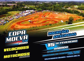 Sábado tem Copa MOCVA de Veloterra Noturna em Venâncio